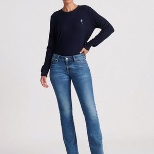 Lucky Brand Legend Boot Cut Jeans Gold Embellished